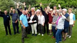 The annual Boules tournament with the Alencon Lions